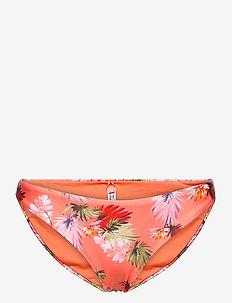 SURF BIKINI BRIEF - bikini bottoms - brush palm persimmon