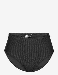 HIGH WAIST BIKINI BRIEF - bikini bottoms - black