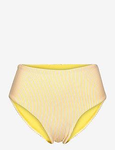 HIGH WAIST BIKINI BRIEF - bikini bottoms - pigment yellow
