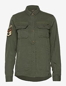 Military Pocket Shirt - overshirts - khaki