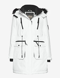 AIKO EVEREST ICON PARKA - parka coats - ecru