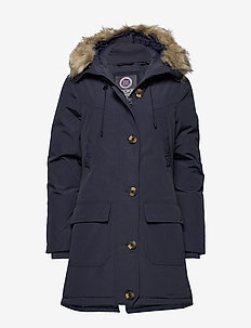 ROOKIE DOWN PARKA - parka coats - rinsed navy