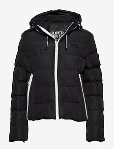 SPIRIT PUFFER ICON JACKET - BLACK