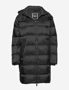EDIT PREMIUM SHION DOWN JACKET - MANOR HOUSE BLACK