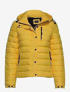 Classic Fuji Padded Jacket - toppatakit - nautical yellow