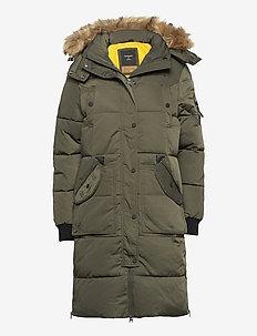 Longline Chinook - manteaux d'hiver - dark moss