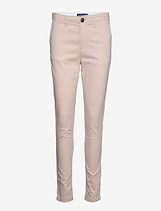 NEW CITY CHINO - chinos - silver cloud
