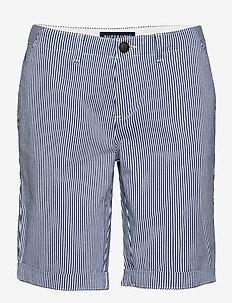 City Chino Short - bermudas - navy stripe