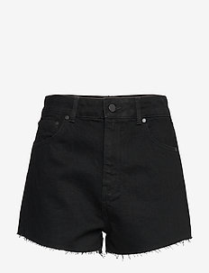 RUBY CUT OFF SHORT - denimshorts - denim black rinse