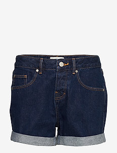 STEPH BOYFRIEND SHORT - denimshorts - denim indigo rinse