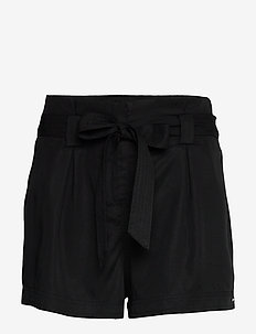 DESERT PAPER BAG SHORT - casual korte broeken - black