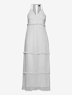 MARGAUX MAXI DRESS - kveldskjoler - white polka dot