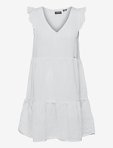 TINSLEY TIERED DRESS - party dresses - optic
