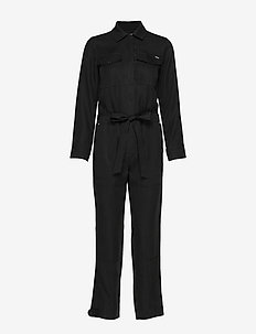 DESERT MILITARY JUMPSUIT - jumpsuits - black