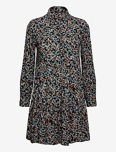 Kathryn Shirt Dress - midi kjoler - autumn daisy