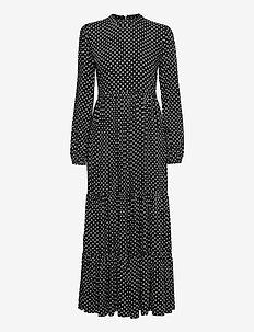Skylar Maxi Dress - robes longues - black dot
