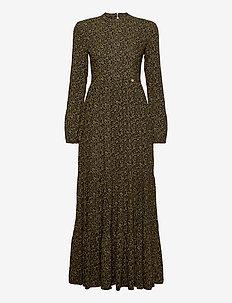 Skylar Maxi Dress - maksimekot - leopard print