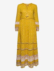 AMEERA MAXI DRESS - everyday dresses - ochre