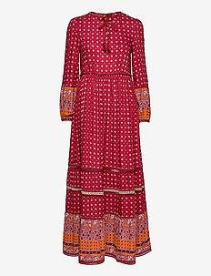 AMEERA MAXI DRESS - everyday dresses - rust