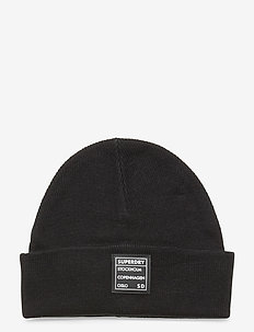 SCANDI STREET BEANIE - bonnets - black