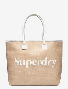 DARCY JUTE TOTE - fashion shoppers - natural
