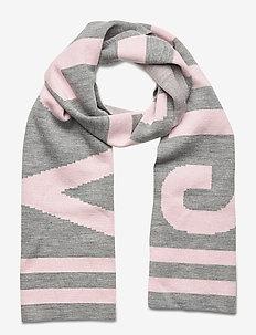 SUPERDRY URBAN LOGO SCARF - scarves - grey marl