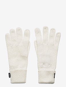 Heritage Ribbed Gloves - gants - cream