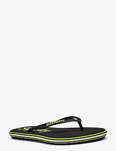 NEON RAINBOW SLEEK FLIP FLOP - flip flops - neon yellow