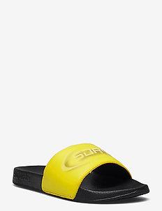 HOLOGRAM POOL SLIDE - pool sliders - neon yellow