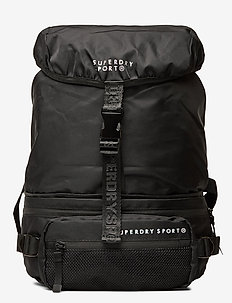 CONVERTIBLE SPORT BACKPACK - sacs a dos - black