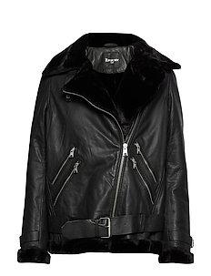 GUESS Jeans Skinnjackor Kvinno JET BLACK A996 ALARA JACKET