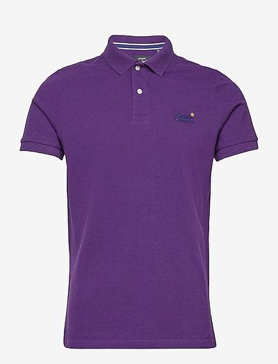 S/S CLASSIC PIQUE POLO - poloshirts - parachute purple