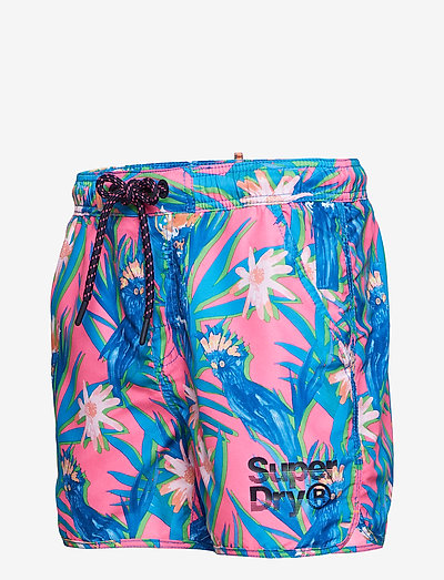 Superdry Echo Racer Swim Short- Bademode Multi Cockatoo Aop