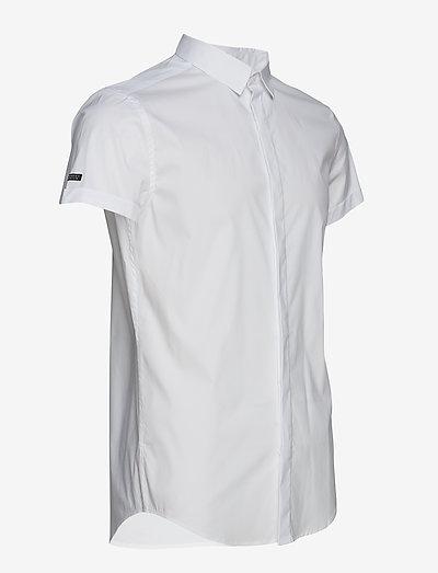 Superdry Premium Cotton Dress S/s Shirt- Hemden Optic
