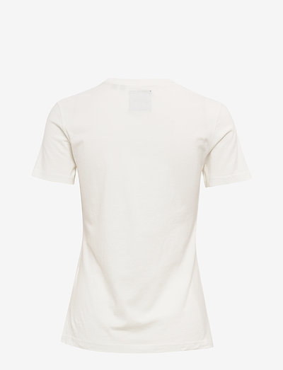 Superdry Vl Reflective Box Entry Tee- T-shirts & Tops Ecru