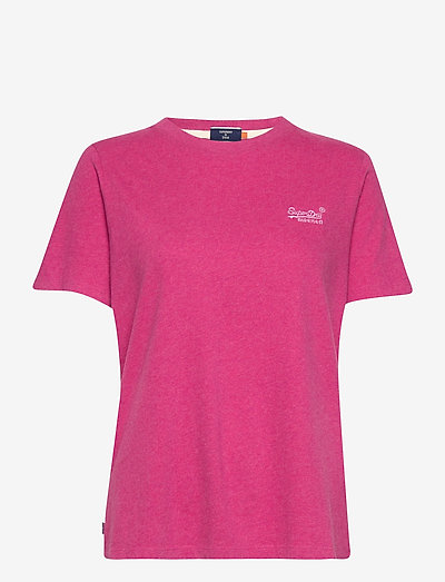 OL CLASSIC TEE - t-shirts - magenta marl