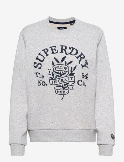 PRIDE IN CRAFT CREW - sweaters - glacier grey marl