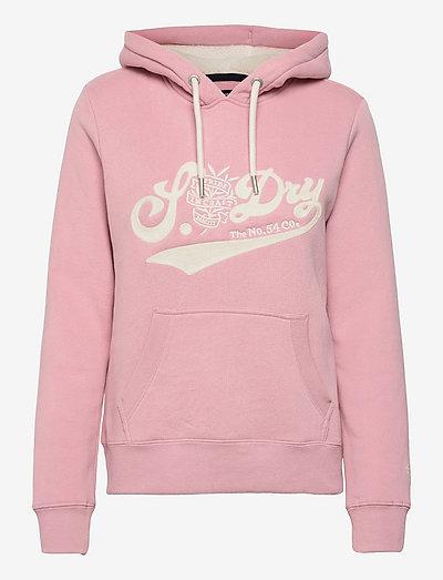 PRIDE IN CRAFT HOOD - hættetrøjer - soft pink