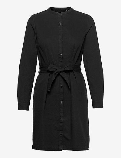STUDIOS CLASSIC SHIRT DRESS - everyday dresses - black