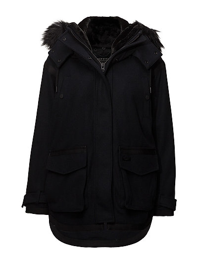 FJORD OVOID PARKA - ECLIPSE NAVY MELTON