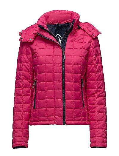 Hooded Box Quilt Fuji Jacket Steppjacke Pink SUPERDRY | SUPERDRY SALE
