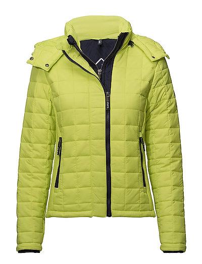 Hooded Box Quilt Fuji Jacket Steppjacke Gelb SUPERDRY | SUPERDRY SALE