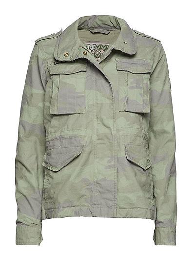 Delta Soft Camo Aop Rookie 4pkt Jkt Outerwear Jackets Utility Jackets Grün SUPERDRY