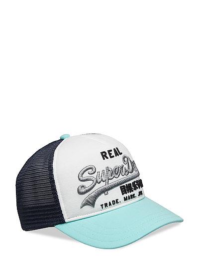 972bad4c Premium Goods Cb Trucker Cap (Soft Mint/white) (22.74 €) - Superdry - |  Boozt.com