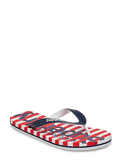 EVA STRIPE FLIP FLOP - RED STRIPE/NAVY/OPTIC