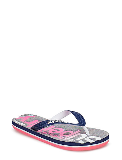 SCUBA FADED LOGO FLIP FLOP - IRIDESCENT GREY MARL