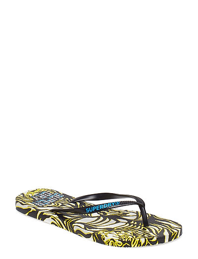 SUPER SLEEK AOP FLIP FLOP - TALLIE TIGER