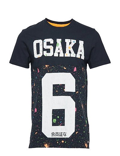 OSAKA 6 CUT AND SEW TEE - ECLIPSE NAVY