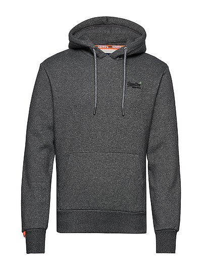 Orange Label Classic Hood Br Hoodie Pullover Grau SUPERDRY