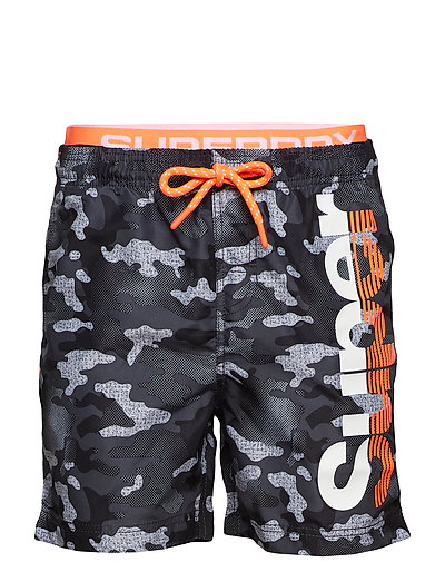SD STATE VOLLEY SWIMSHORT - SILVER GREY GRIT CAMO